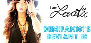 Demi Lovato NEW ID by DemiFan101