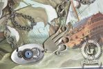 Steampunk Mechancical Kraken Fork Necklace by Doctor-Gus
