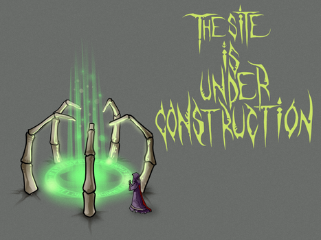 Under Construction page by nightgrowler