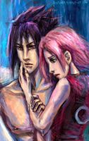 SasuSaku Month 2012 - Day 9 - Bravado by jesterry