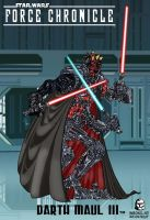 Force Chronicle: DARTH MAUL 3 by BongzBerry