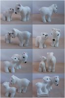Mummy Polar Bear commission by lovelauraland