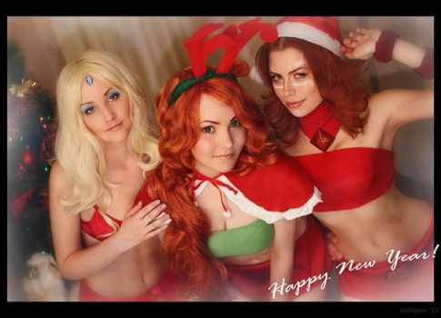 Dota 2 - Happy New Year! by MilliganVick