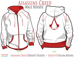Assassins Creed - Male Hoddie by crystal-studio