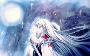 Sesshomaru by LittleShirou