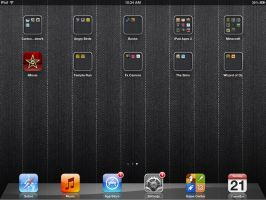 My old iPad screen by NoahLC