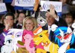 Romney Wins The Crowd by RicRobinCagnaan