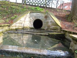 Sewage Tunnel by Lengels-Stock