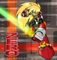 Zero a la MegaMan Legends by MichaelMayne