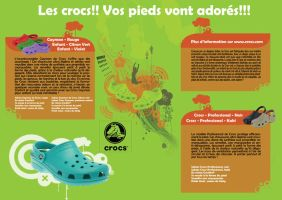 Plaquette crocs by passtemp