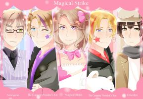 APH : Magical Strike!!! by Akiya-sama