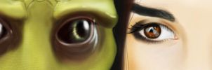 When I look into your eyes by AndromedaShepard