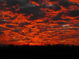The Sky is on Fire by emmasea