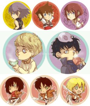 AE 2013 Buttons by Do0dlebugdebz