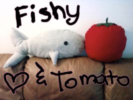 FAIL FISH and Tomato :3 by Jei-Muffin