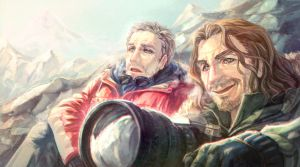 the Secret Life Of Walter Mitty by arashicat