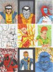 X Men Archives Sketch Cards 3 by wheels9696