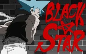 soul eater: black star wall by kokia