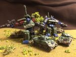 Transformers World War 2 miniature diorama by Prowlcop