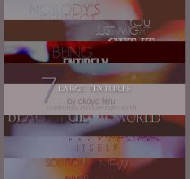 03. 7 LARGE TEXTURES PACK by yurrurri