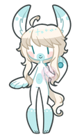AQ 107 Winter Bunny {Auction} CLOSED by Koru-ru
