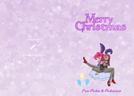 Pinkie and Pinkamena XMas Card by feather-chan