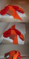 Elsie the Dragon Plushie by DragonsAndDreamscape