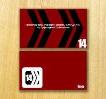 14more Business Card by FushionART