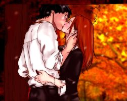 Harry and Ginny FALL in love by BrookeSpencer