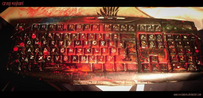 Grunge Keyboard by RussianPunx