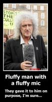 Fluffy Man (Brian May) by Oceansoul7777