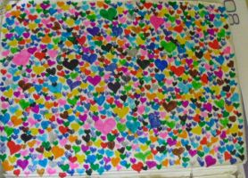 A sea of Hearts by Davibowenyphselt