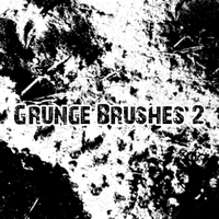 Brush: Grunge 2 by AwesomeStock