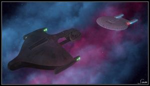 Romulan Negotiations, Act 3 by celticarchie