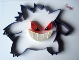 Gengar by AlmostBlueKitty
