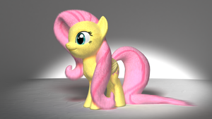 Fluttershy - Fully Fluffy Version by VeryOldBrony