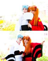 Summer Girls - Evangelion by Mostflogged