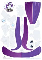 Rarity papercraft by Kna