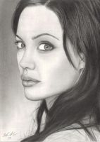 Angelina Jolie by TeamMatrix12