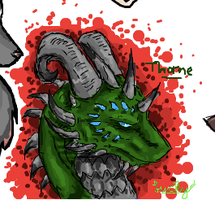 iScribble Thorne by LuckyIrishEyes
