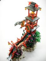 Dragon Temple by The-Crimson-Wolf