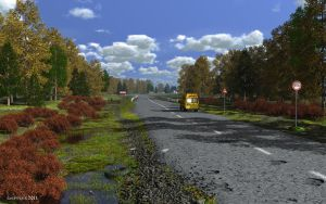 Local road by slepalex