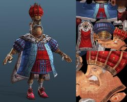Settlers 7 King Konradin Wire by polyphobia3d