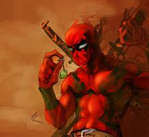 DeadPool? by Electrixocket