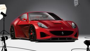 Ferrari California Concept by asoares