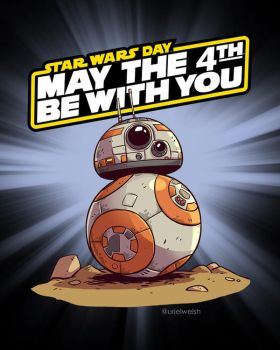May The 4th be With You! by urielwelsh