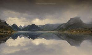 Lofoten Mirror by Stridsberg