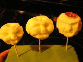 Apple Carvings by the-artful-dodger76