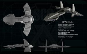 O'Neill class Asgard Mothership ortho by unusualsuspex