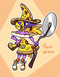 Pizza Witch by professorfandango